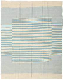 Kelim Moderní Koberec 181X230 Moderní Ručně Tkaný Béžová/Tyrkysově Modré (Vlna, Indie)