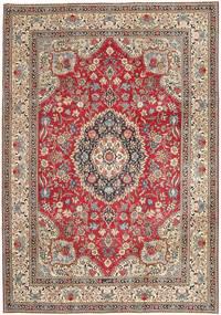 Tabriz Patina Koberec 237X336 Orientální Ručně Tkaný Světle Šedá/Tmavě Červená (Vlna, Persie/Írán)