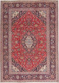 Keshan Patina Koberec 235X328 Orientální Ručně Tkaný Tmavě Červená/Světle Fialový (Vlna, Persie/Írán)