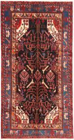 Nahavand Koberec 151X292 Orientální Ručně Tkaný Běhoun Tmavě Červená/Tmavě Hnědá (Vlna, Persie/Írán)