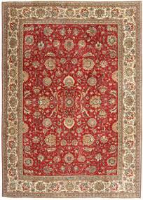 Tabriz Patina Koberec 239X335 Orientální Ručně Tkaný Červenožlutá/Hnědá (Vlna, Persie/Írán)