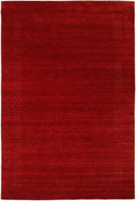Loribaf Loom Beta - Rudý Koberec 190X290 Moderní Tmavě Červená/Červenožlutá (Vlna, Indie)