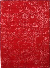 Orient Express - Rudý Koberec 210X290 Moderní Ručně Tkaný Červená/Červenožlutá (Vlna/Hedvábí Bambus, Indie)