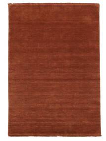 Handloom Fringes - Deep Rust Koberec 160X230 Moderní Červenožlutá/Tmavě Červená (Vlna, Indie)