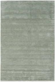 Handloom Fringes - Soft Teal Koberec 300X400 Moderní Světle Zelená/Tmavošedý Velký (Vlna, Indie)