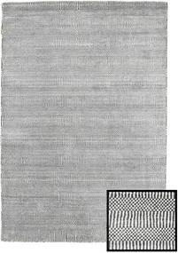 Bamboo Grass - Black_ Šedá Koberec 120X180 Moderní Světle Šedá/Tmavošedý (Vlna/Hedvábí Bambus, Turecko)