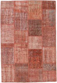 Patchwork Koberec 160X233 Moderní Ručně Tkaný Tmavě Červená/Světle Růžová (Vlna, Turecko)