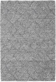 Rut - Tmavošedý Melange Koberec 160X230 Moderní Ruční Tkaní Světle Šedá/Tmavě Hnědá (Vlna, Indie)