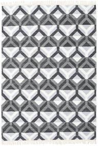 Aino Koberec 160X230 Moderní Ruční Tkaní Světle Modrý/Bílý/Krém (Vlna/Hedvábí Bambus, Indie)