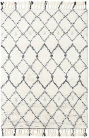 Sauda - Natural Šedá Koberec 160X230 Moderní Ručně Tkaný Béžová/Bílý/Krém (Vlna, Indie)