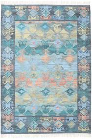 Azteca - Modrá Multi Koberec 160X230 Moderní Ruční Tkaní Světle Modrý/Světle Šedá (Vlna, Indie)