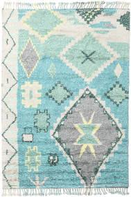 Odda - Turquoise Koberec 200X300 Moderní Ručně Tkaný Béžová/Tyrkysově Modré (Vlna, Indie)