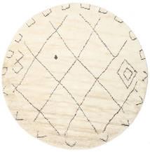 Almaaz - White Koberec Ø 250 Moderní Ručně Tkaný Oválný Béžová/Bílý/Krém Velký (Vlna, Indie)