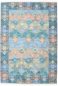 Azteca - Modrá Multi Koberec 240X340 Moderní Ruční Tkaní (Vlna, Indie)