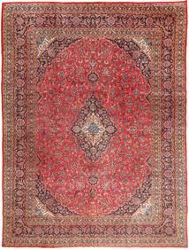 Mašhad Koberec 295X390 Orientální Ručně Tkaný Tmavě Červená/Světle Hnědá Velký (Vlna, Persie/Írán)