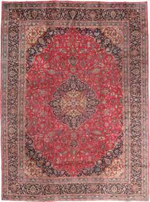 Mašhad Koberec 295X395 Orientální Ručně Tkaný Tmavě Červená/Hnědá Velký (Vlna, Persie/Írán)