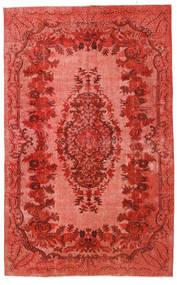 Colored Vintage Relief Koberec 180X290 Moderní Ručně Tkaný Červenožlutá/Tmavě Červená (Vlna, Turecko)