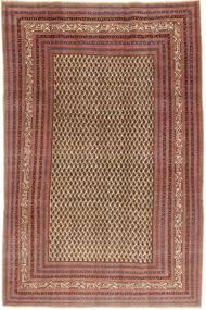 Arak Patina Koberec 212X320 Orientální Ručně Tkaný Tmavě Červená/Světle Hnědá (Vlna, Persie/Írán)