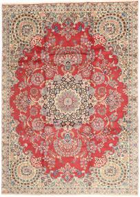 Kerman Koberec 232X335 Orientální Ručně Tkaný Červenožlutá/Béžová (Vlna, Persie/Írán)