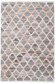 Venkovní Koberec Kathi - Šedá/Coral Koberec 200X300 Moderní Ruční Tkaní Světle Šedá/Tmavošedý/Světle Růžová ( Indie)
