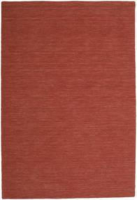 Kelim Loom - Červenožlutá Koberec 250X350 Moderní Ruční Tkaní Tmavě Červená Velký (Vlna, Indie)
