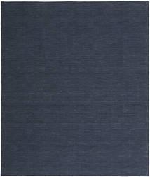 Kelim Loom - Denim Modrá Koberec 250X300 Moderní Ruční Tkaní Tmavě Modrý/Modrá Velký (Vlna, Indie)