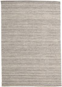 Alva - Hnědá/White Koberec 160X230 Moderní Ruční Tkaní Světle Šedá (Vlna, Indie)