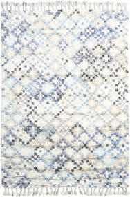Greta Koberec 160X230 Moderní Ručně Tkaný Bílý/Krém/Béžová (Vlna, Indie)