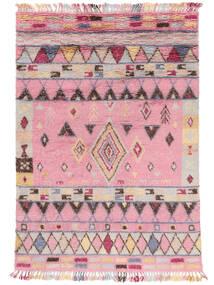 Fanny Koberec 200X300 Moderní Ručně Tkaný Světle Růžová/Světle Šedá (Vlna, Indie)