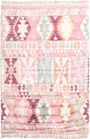 Märta - Růžová Koberec 200X300 Moderní Ručně Tkaný Světle Růžová/Béžová (Vlna, Indie)