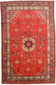 Samarkand Vintage Koberec 161X250 Orientální Ručně Tkaný Červenožlutá/Tmavě Červená (Vlna, Čína)