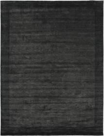 Handloom Frame - Černá/Tmavošedý Koberec 200X300 Moderní Tmavošedý/Tmavě Zelený (Vlna, Indie)