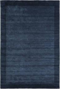 Handloom Frame - Tmavě Modrý Koberec 300X400 Moderní Tmavě Modrý/Modrá Velký (Vlna, Indie)