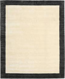 Handloom Frame - Černá/White Koberec 250X300 Moderní Béžová/Tmavošedý Velký (Vlna, Indie)