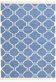 London - Modrá/Bělavý Koberec 160X230 Moderní Ruční Tkaní Modrá/Béžová (Vlna, Indie)