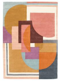 Arty - Multi Koberec 160X230 Moderní Oranžová/Tmavá Béžová (Vlna, Indie)
