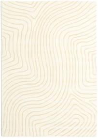 Woodyland - Béžová Koberec 160X230 Moderní Béžová/Bílý/Krém (Vlna, Indie)