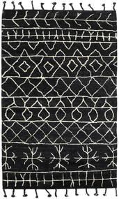 Moss Berber - Černá Koberec 180X275 Moderní Ručně Tkaný Černá (Vlna, Indie)