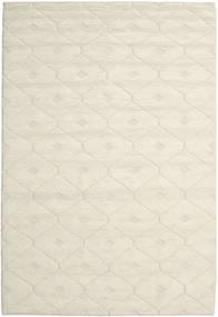 Romby - Off-White Koberec 200X300 Moderní Ruční Tkaní Béžová/Tmavá Béžová (Vlna, Indie)