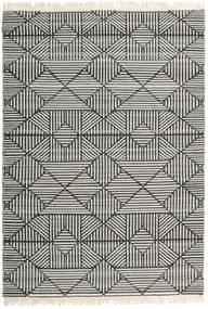 Mauri Koberec 160X230 Moderní Ruční Tkaní Tmavošedý/Světle Šedá/Tmavá Béžová (Vlna, Indie)