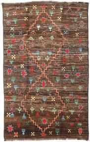 Moroccan Berber - Afghanistan Koberec 190X304 Moderní Ručně Tkaný Hnědá/Tmavě Hnědá (Vlna, Afghánistán)