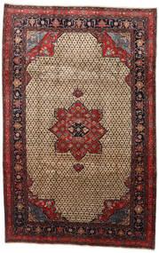 Songhor Koberec 206X322 Orientální Ručně Tkaný Světle Hnědá/Černá (Vlna, Persie/Írán)