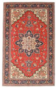 Heriz Patina Koberec 164X265 Orientální Ručně Tkaný Tmavošedý/Červenožlutá (Vlna, Persie/Írán)