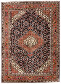 Ardebil Patina Koberec 208X290 Orientální Ručně Tkaný Tmavošedý/Tmavě Červená (Vlna, Persie/Írán)