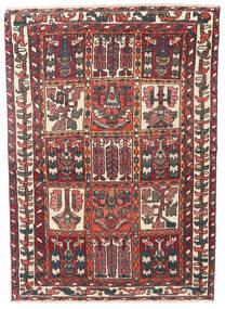 Bakhtiar Patina Koberec 110X152 Orientální Ručně Tkaný Tmavě Červená/Tmavě Hnědá (Vlna, Persie/Írán)