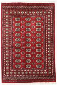 Pákistán Bokhara 2Ply Koberec 125X185 Orientální Ručně Tkaný Tmavě Červená (Vlna, Pákistán)