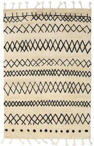 Beni Berber Koberec 180X275 Moderní Ručně Tkaný Béžová/Tmavošedý (Vlna, Indie)
