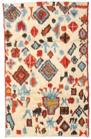 Moroccan Berber - Afganistan Koberec 184X294 Moderní Ručně Tkaný Béžová/Červená (Vlna, Afghánistán)