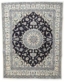 Nain Koberec 200X250 Orientální Ručně Tkaný Béžová/Tmavošedý (Vlna, Persie/Írán)