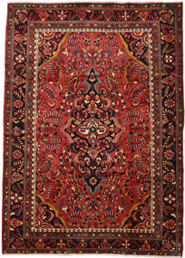 Rudbar Koberec 225X325 Orientální Ručně Tkaný Tmavě Hnědá/Tmavě Červená (Vlna, Persie/Írán)